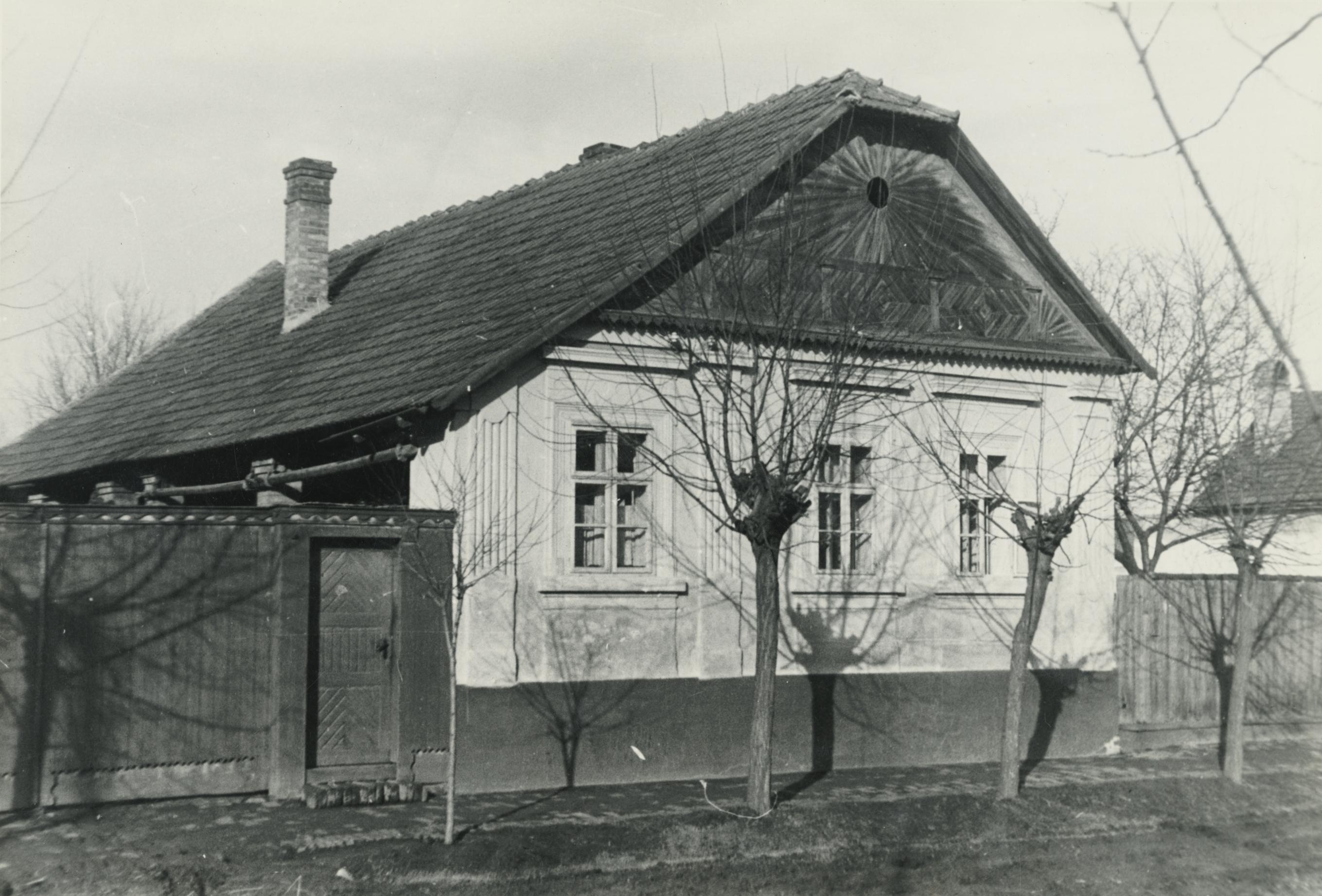 A szegedi Pásztor utca 63. számú parasztháza