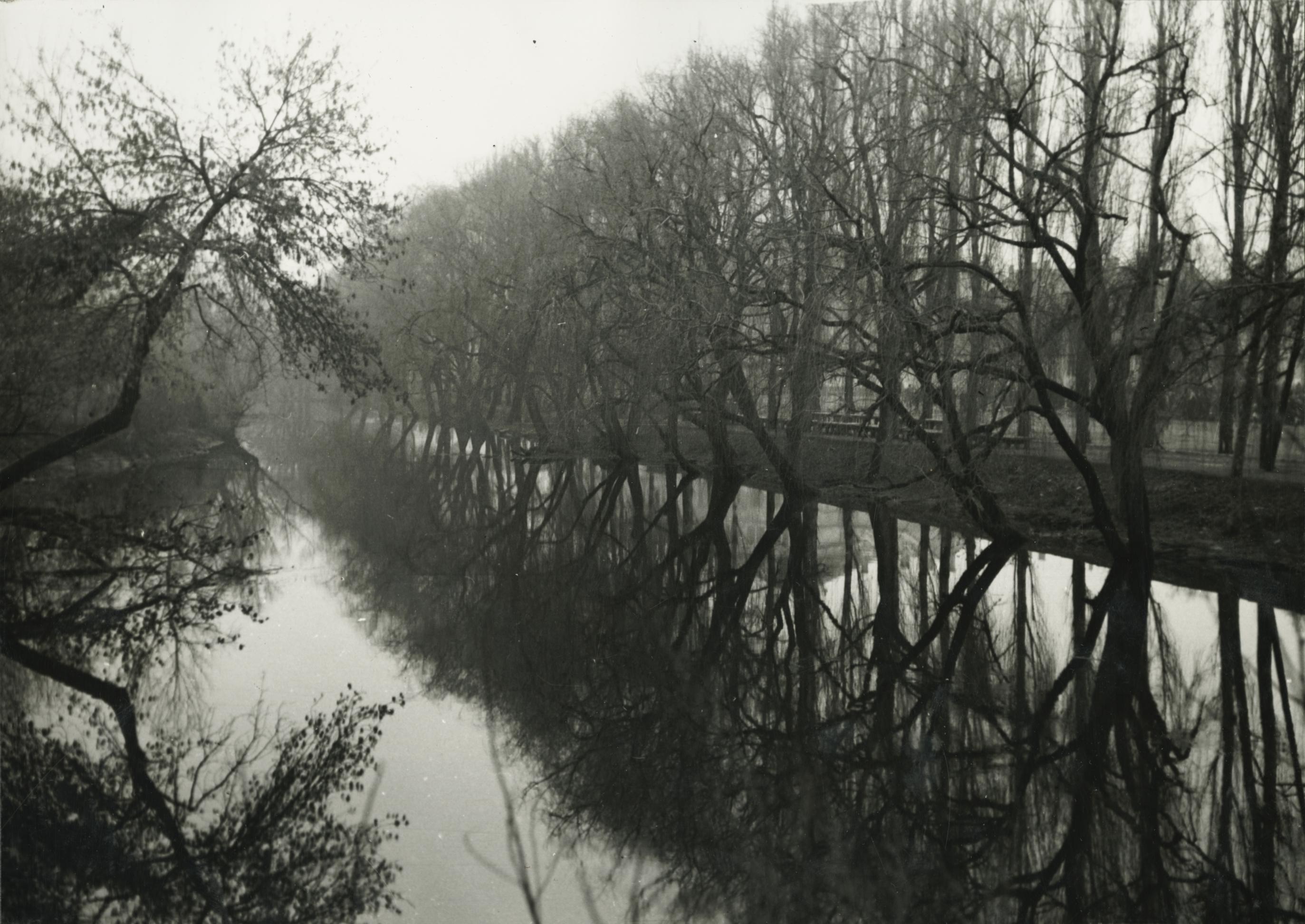 A békési Fehér-Körös csatornája