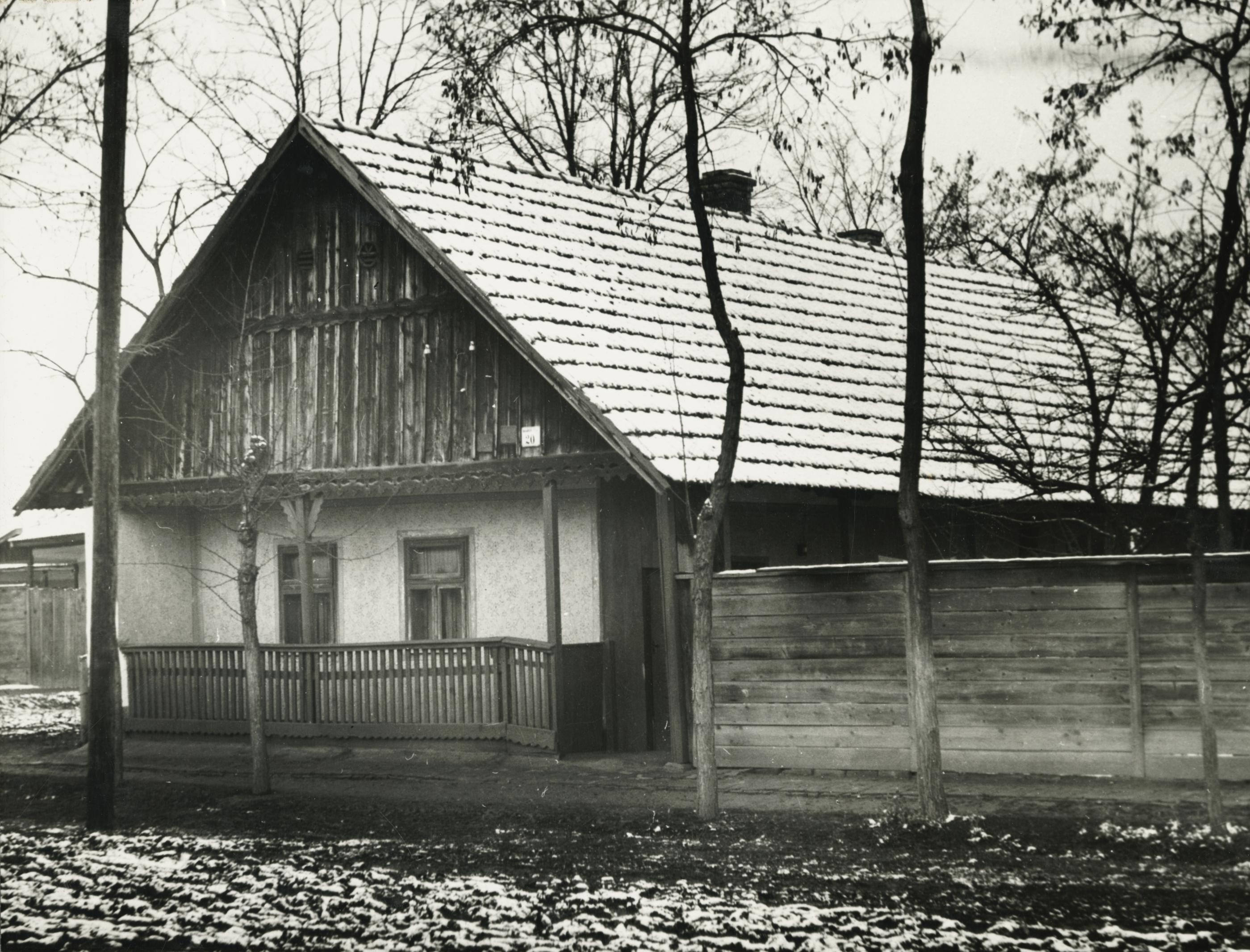 A békési Maxim Gorkij utca 20. szám alatti parasztház