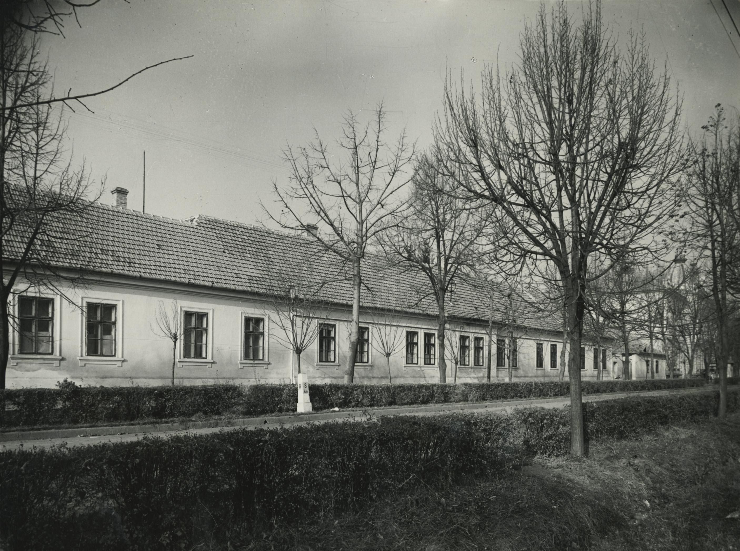A békési Petőfi Sándor utca 4. szám alatti járási tanács épülete