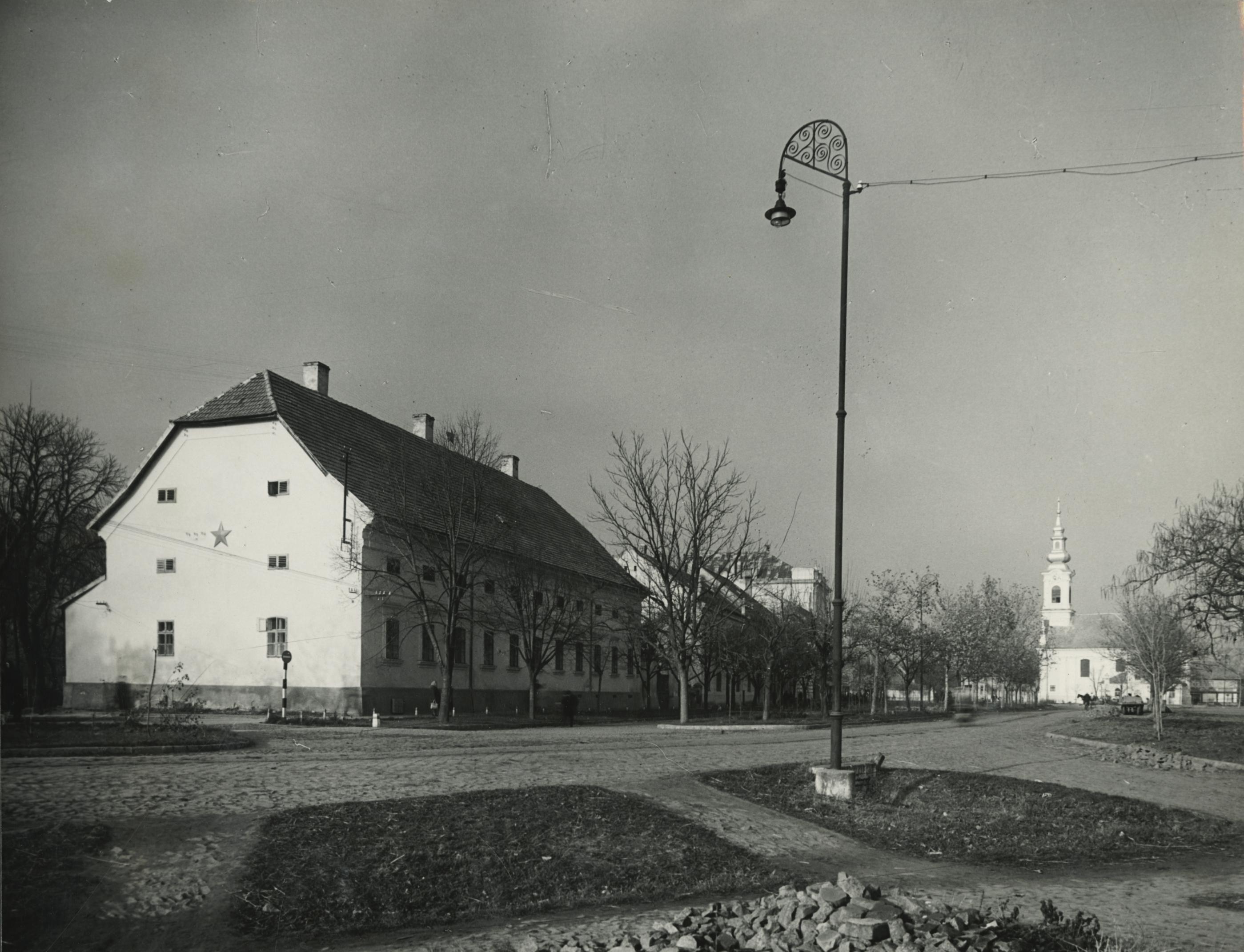 Az egykori Pártház épülete Békésen