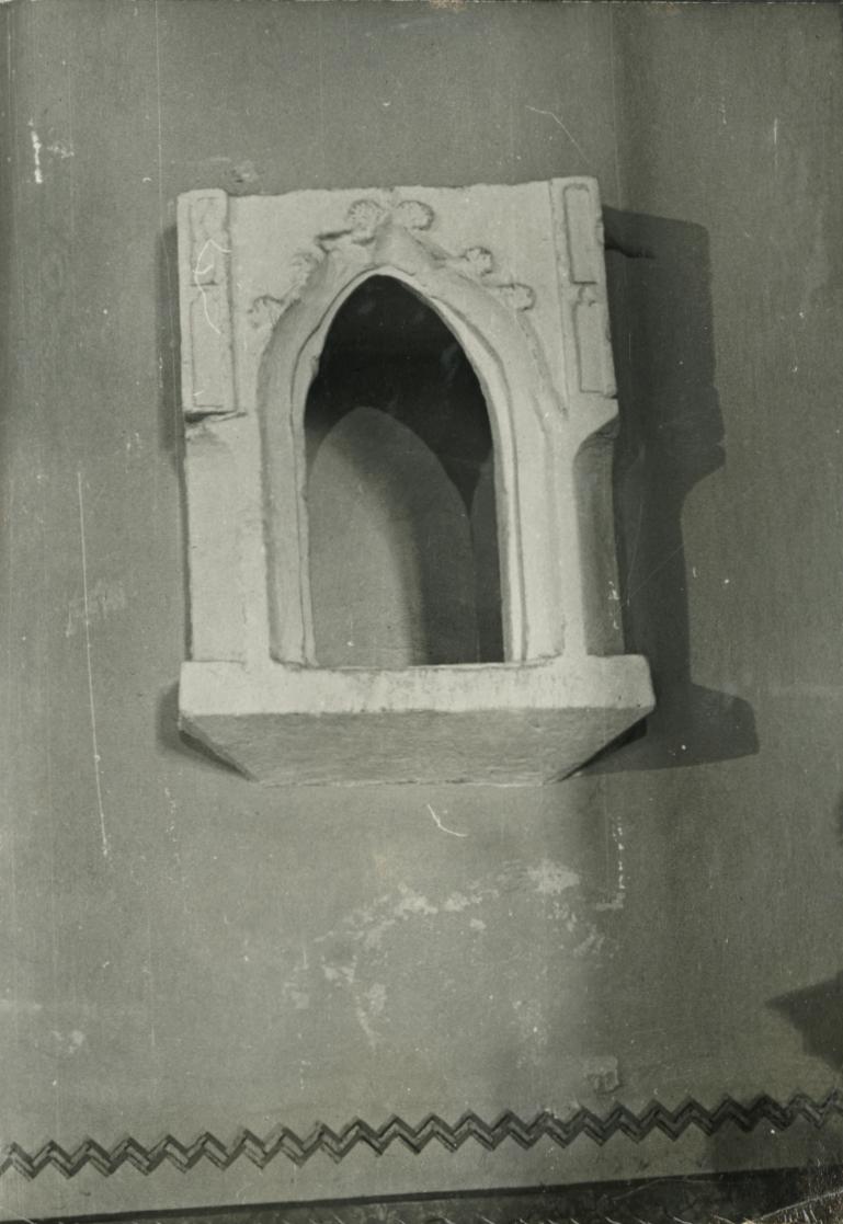 Balatonberényi Keresztelő Szent János-templom, gótikus szentségház