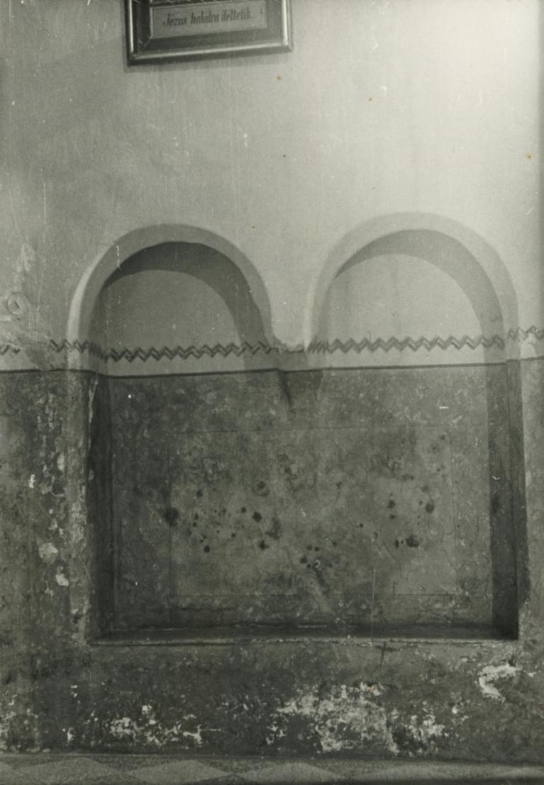 Balatonberényi Keresztelő Szent János-templom, ülőfülke