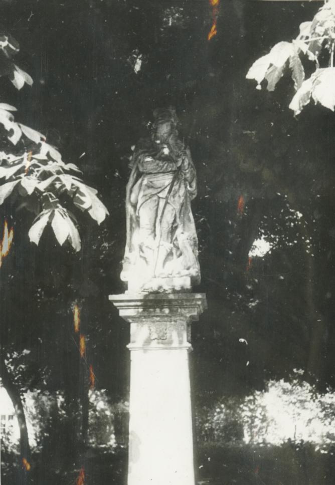 Balatonberény, Kossuth utcai Szent Vendel-szobor