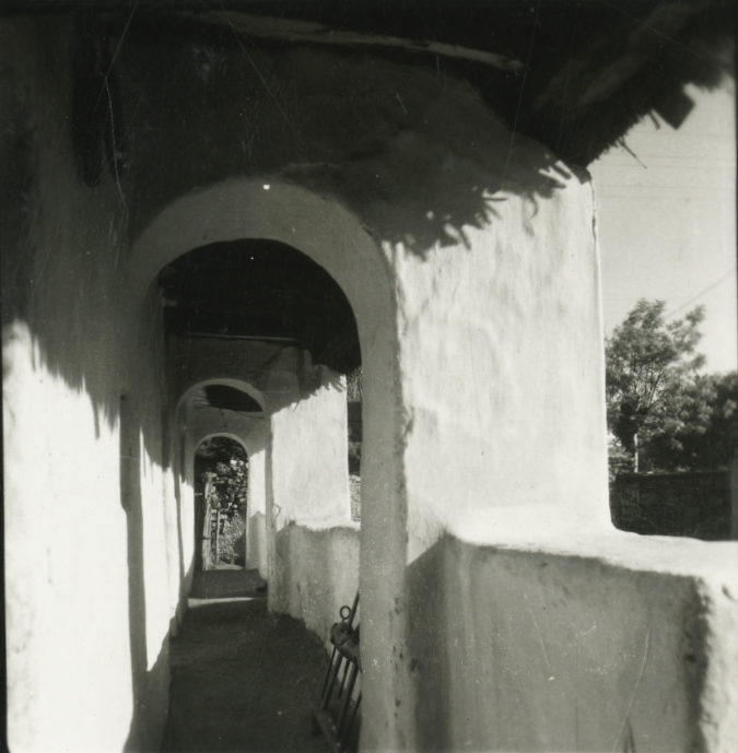 Balatonakali, Kossuth Lajos u. 18. szám alatti ház tornáca