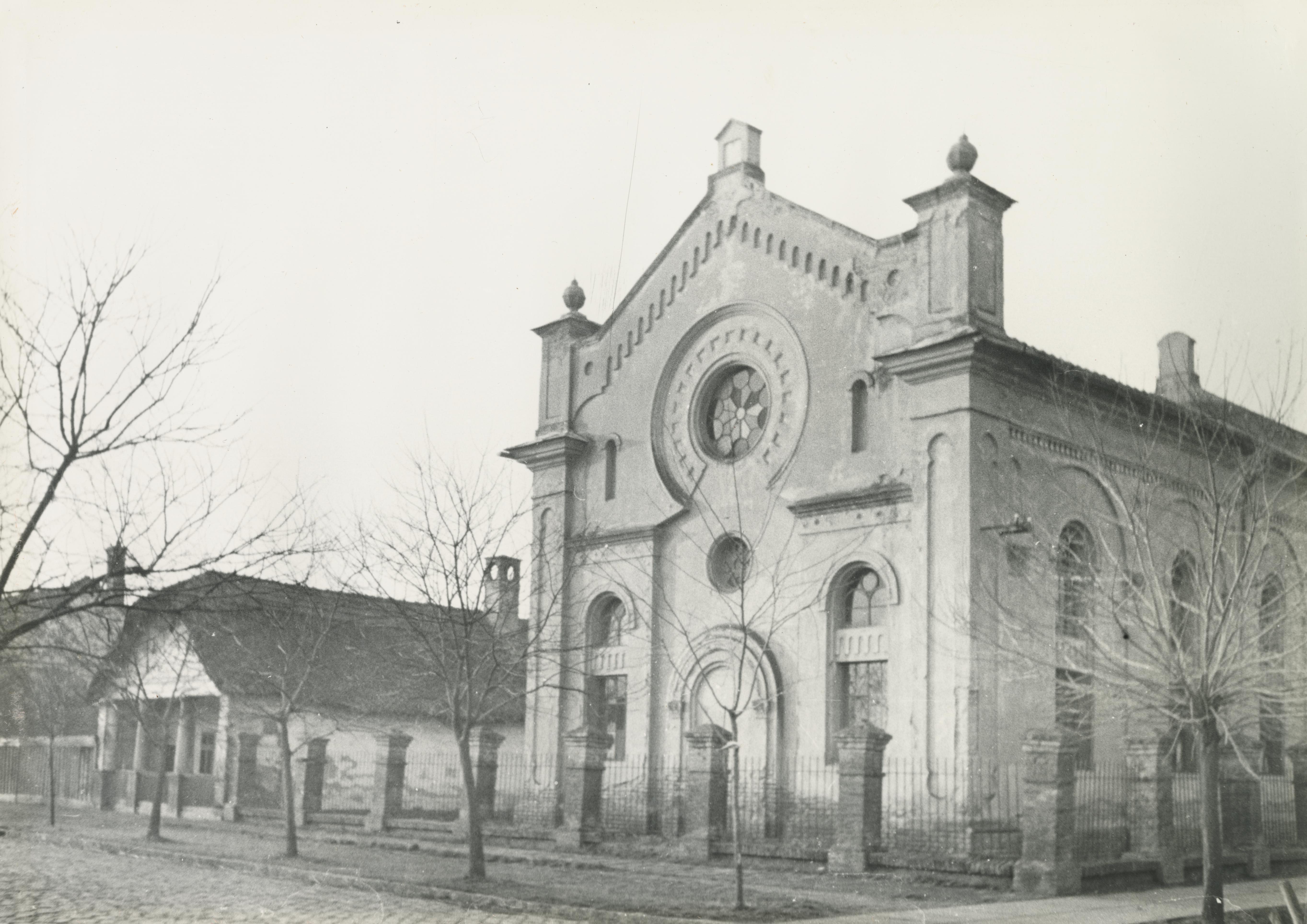 A békéscsabai ortodox Zsinagóga