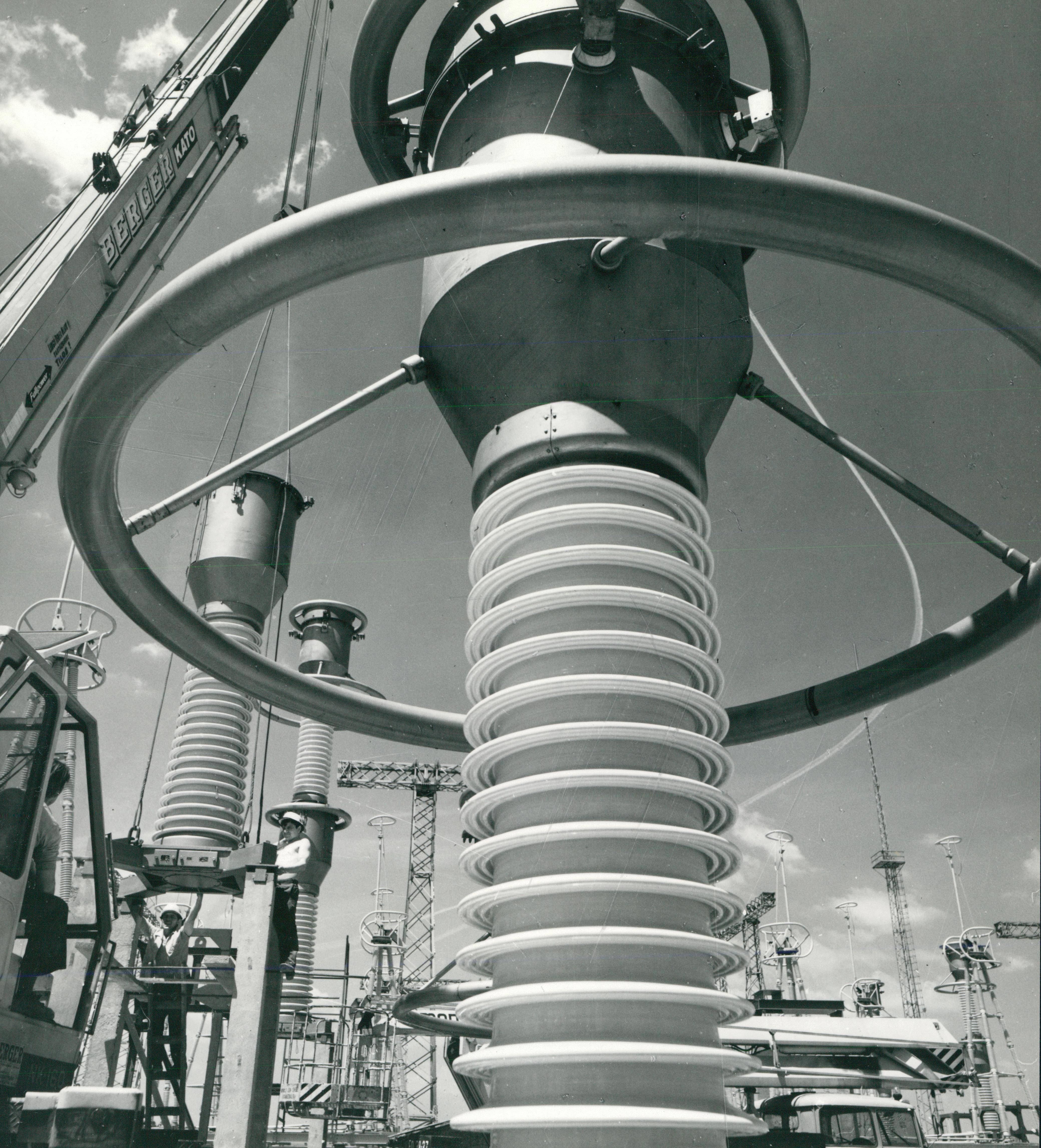 A Tiszai Vegyi Kombinát ipari transzformátorállomása