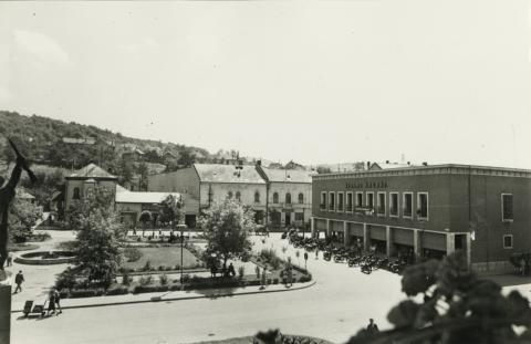 Salgótarján, egykori Tanácsköztársaság tér