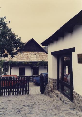 Hollókői falurészlet