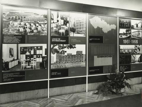 Lakásépítés Csehszlovákiában - kiállítás