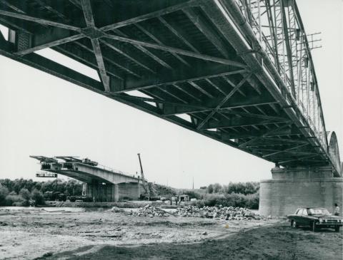 Az épülő köröstarcsai Kettős-Körös híd