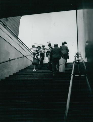 Metróbejárat a Deák Ferenc téren