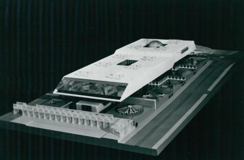 A Pahlavi-könyvtár modellje