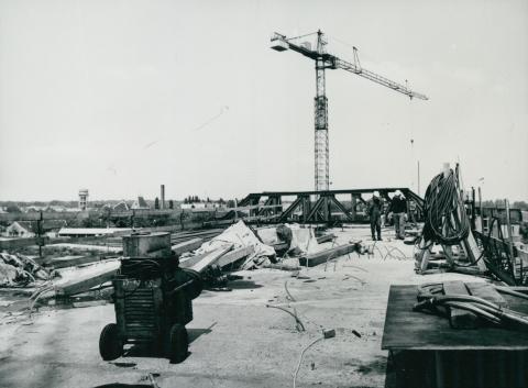 Az épülő győri Széchenyi híd szemrevételezése