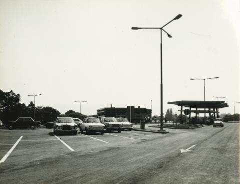 Shell benzinkút az M1 autópályán
