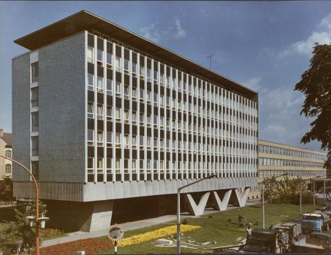 A miskolci egykori Központi Leánykollégium épülete