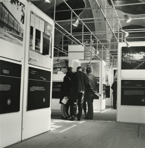 Az építés 10 éve Magyarországon 1960 - 1970 - szakmai kiállítás