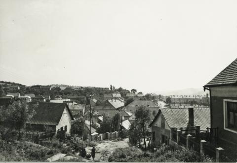 Somlyó utca látképe Salgótarjánban
