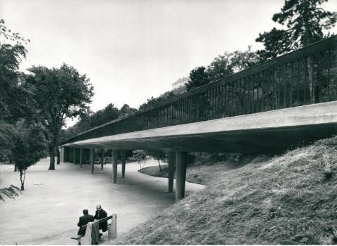 Vasbeton közúti híd Tihanyban