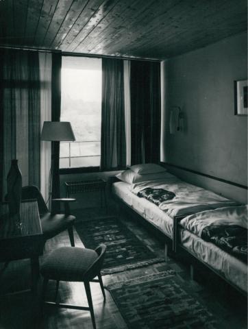 A Tihany Szálló egyik szobája