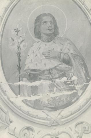 Szent Imre freskó