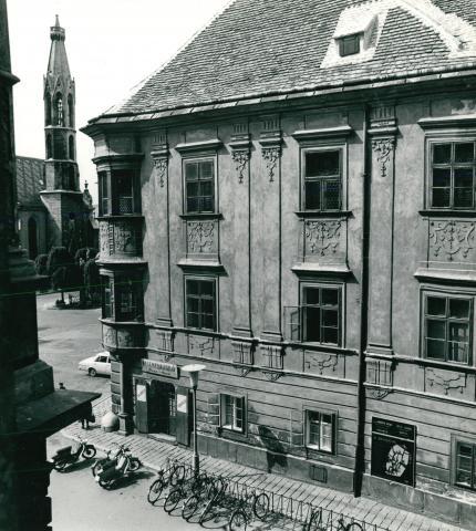 A soproni Storno-ház állapotfelmérése