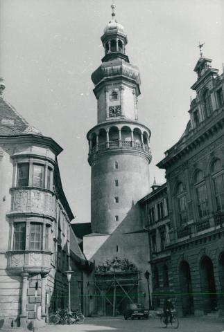 A soproni Storno-ház és Tűztorony