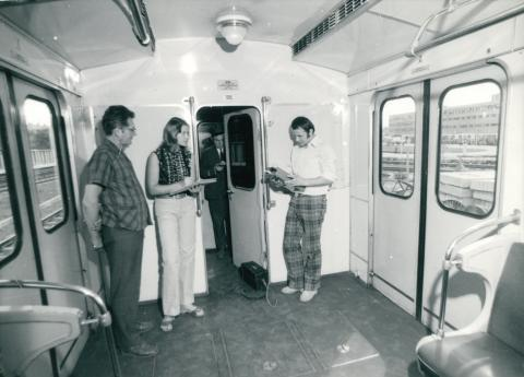 Metrókocsi érintésvédelmi vizsgálata
