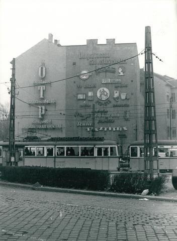 A Kálvin tér az 52-es villamossal
