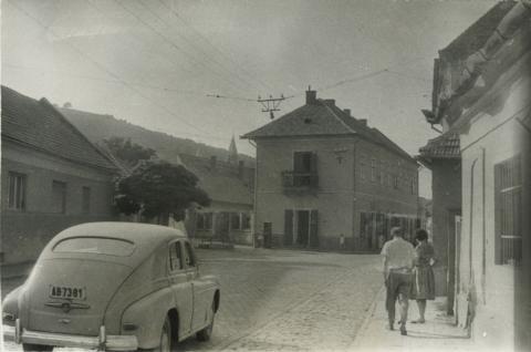 Tokaji utcakép