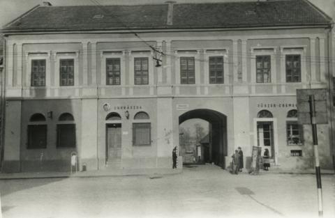 Tokaj, régi ÉMÁSZ-épület vizsgálata