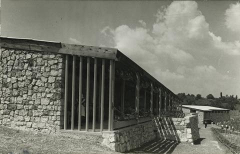 A badacsonyi SZOT Étterem az 1960-as években