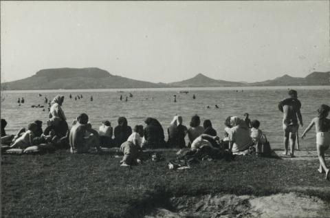 Badacsony látképe a déli-partról
