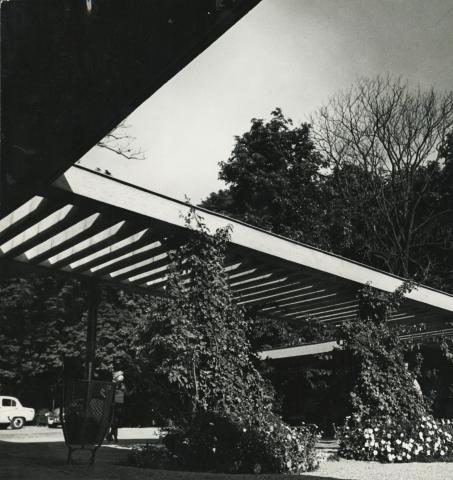 Badacsony üdülőközpontja az 1960-as években