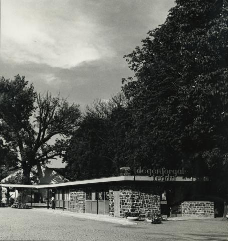 A badacsonyi Idegenforgalmi Iroda épülete