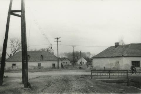 Tokaji utca látképe