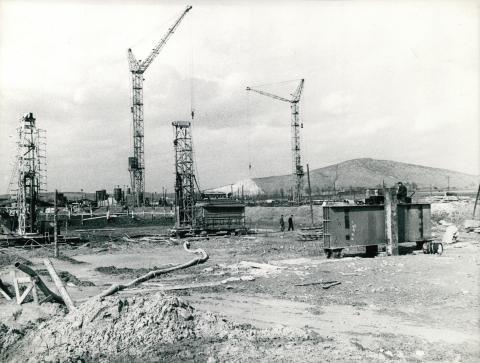 Iparterület beépítése