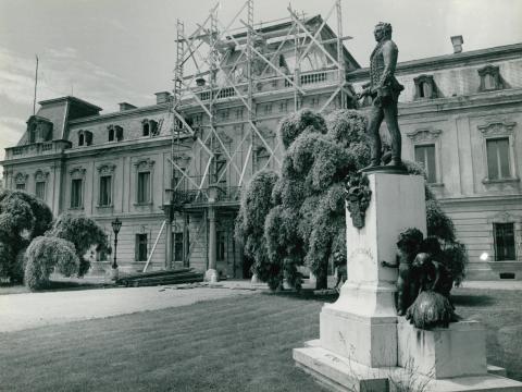A keszthelyi Festetics-kastély renoválása