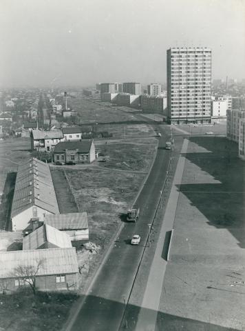 A Kacsóh Pongrác úti lakótelep toronyháza