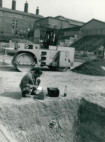 Izotópos talajvizsgálat a Dreher Sörgyárak kőbányai telephelyén