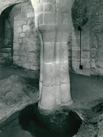 A feldebrői Szent Márton-templom altemploma