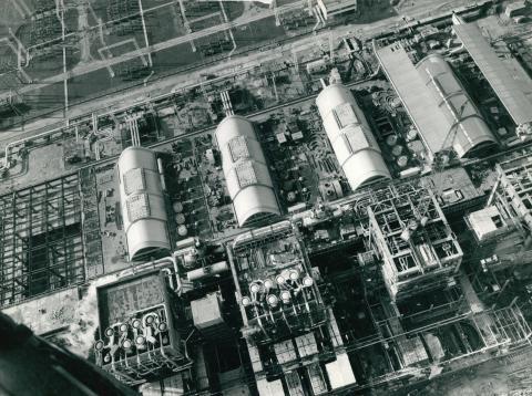A Dunamenti Erőmű épülő gőzturbinái