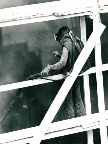 Ipari festés vagy tisztítás