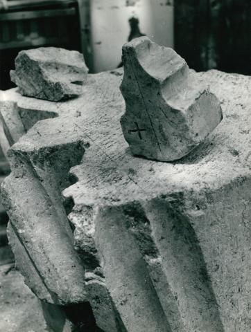 Aquincum műemléki  állapotfelmérés, kőfaragványok