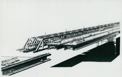 A lágymányosi híd látványterve