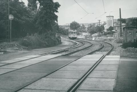 Az 59-es villamos Apor Vilmos téri szakaszának állapotfelmérése