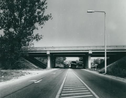 Az M3-as autópálya felüljárója