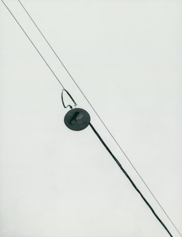 Utcai lámpa az 59-es villamos vonalán