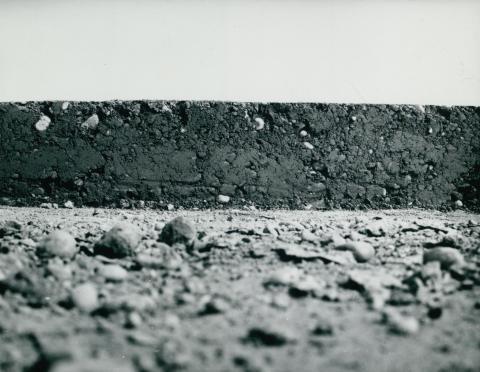 A ferihegyi leszállópálya aszfaltburkolata