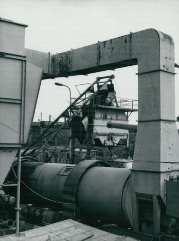Az Illatos úti aszfaltgyártó telep csőrendszere